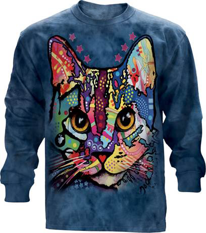 Cat Colorful Long Sleeve