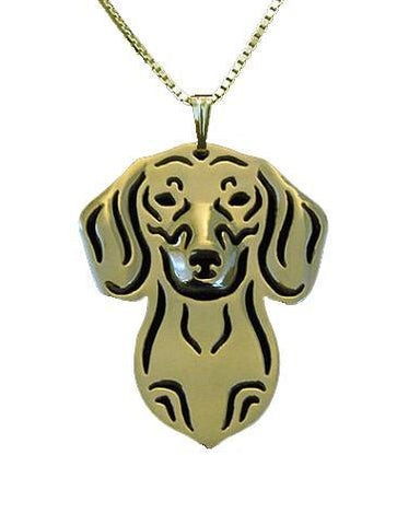 Dachshund Jewelry - Dachshund Face Necklace