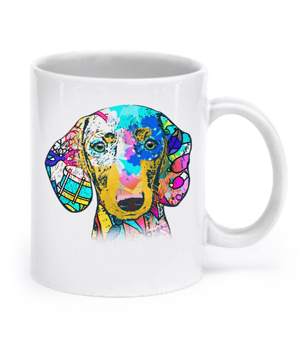 Dachshund Shirt - Colorful Dachshund Mug
