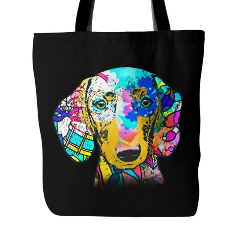 Dachshund Shirt - Dachshund Colorful Tote Bag (Free Shipping)