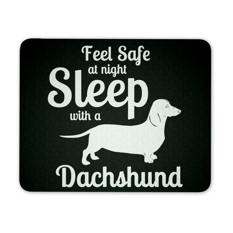 Dachshund Shirt - Sleep With A Dachshund Mousepad