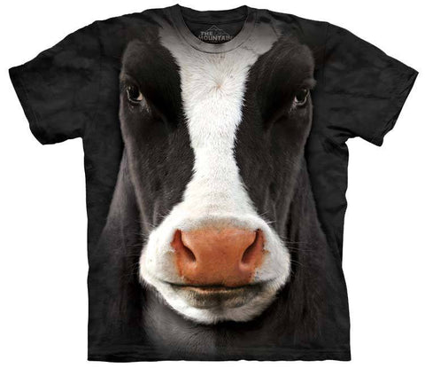 Farm Shirt - Black Cow Face