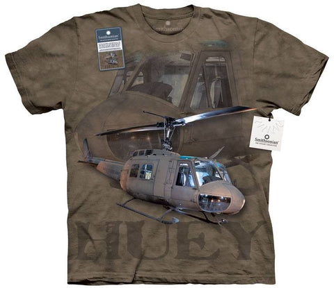 Flight Shirt - Army Huey Helicopter