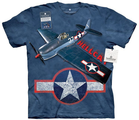 Flight Shirt - Grumman F6F Hellcat