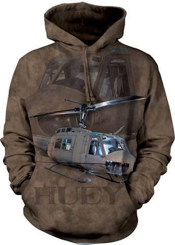 Flight Shirt - Huey Helicopter Hoodie
