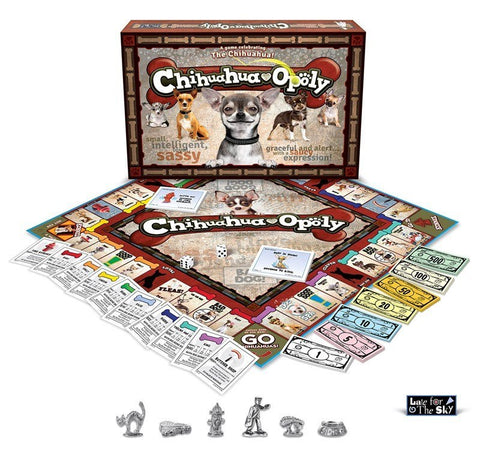 Game - Chihuahua-opoly Board Game