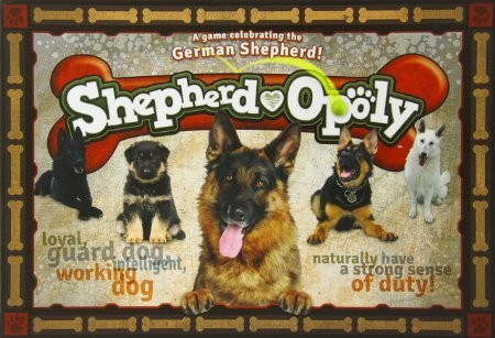 Game - German Shepherd-opoly Board Game