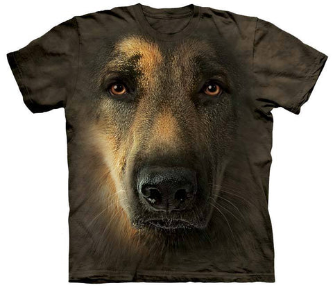 German Shepherd Shirt - German Shepherd Face