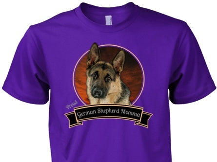 German Shepherd Shirt - German Shepherd Proud Momma Ver2