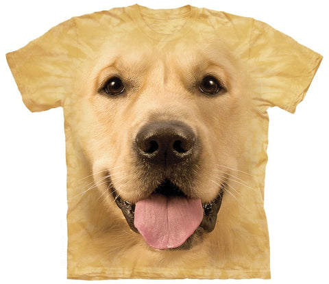 Golden Retriever Shirt - Golden Face