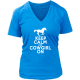 Horse Shirt - Keep Calm & CowGirl On
