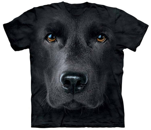 Lab Shirt - Black Lab Face