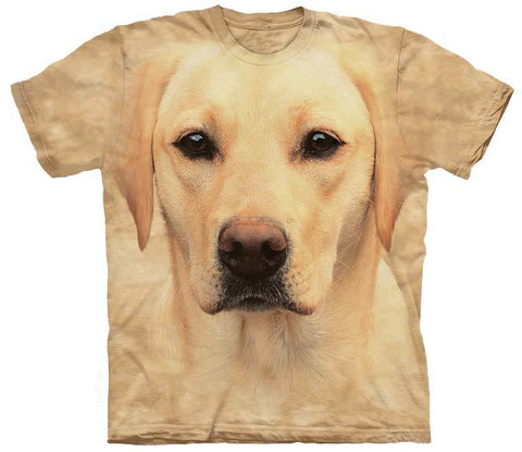 Lab Shirt - Yellow Lab Face
