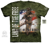 Military Shirt - Home Of The Brave