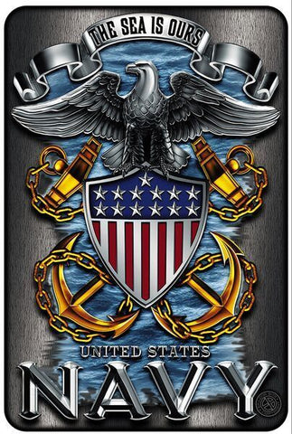 Military Shirt - US Navy Eagle Sign