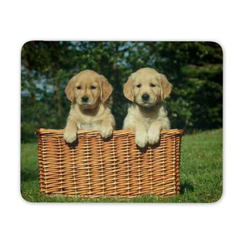 Mousepads - Golden Puppies Mousepad