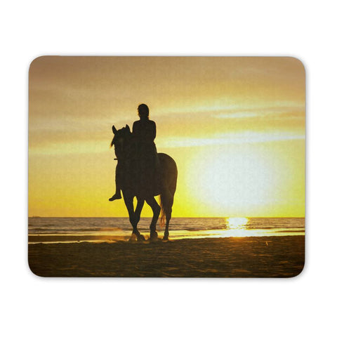 Mousepads - Horse Beach Sun Mousepad