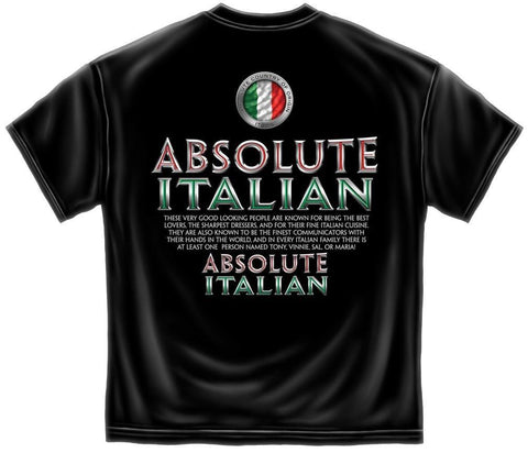 Novelty Shirt - Absolute Italian
