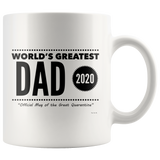 World's Great Dad 2020 Official Quarantine Mug
