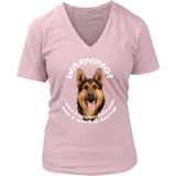 German Shepherd Warning Shirt