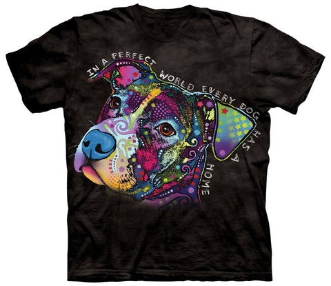 Pit Bull Shirt - Pit Bull Is A Perfect World