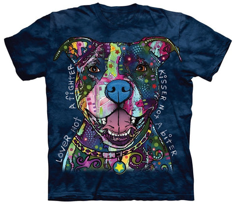 Pit Bull Shirt - Pit Bull Lover Not Fighter