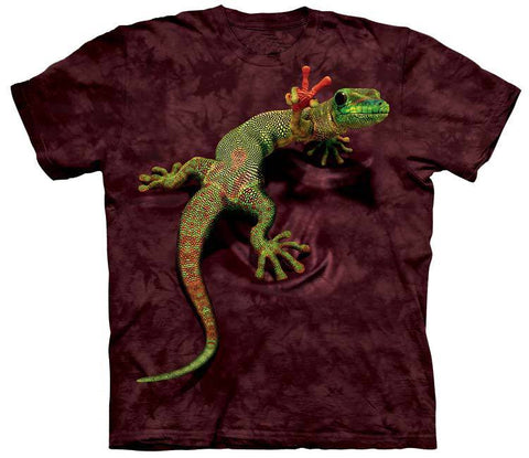 Reptile Shirt - Gecko Peace Out