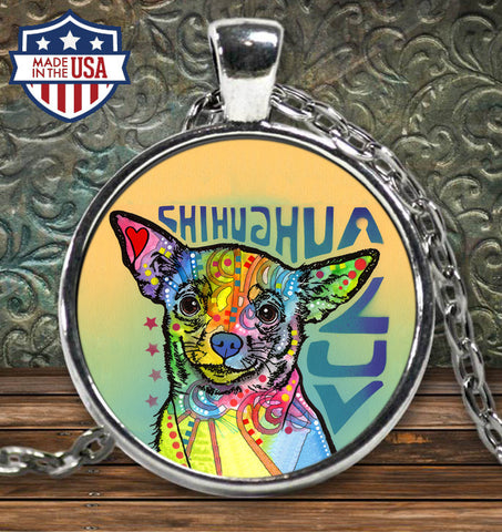 Chihuahua Luv Necklace