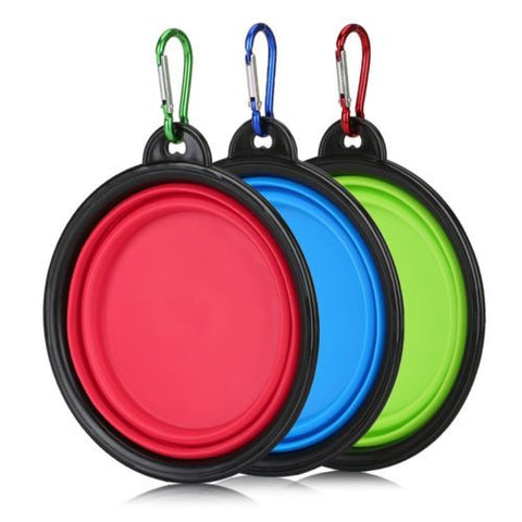 Collapsible Pet Bowl Set