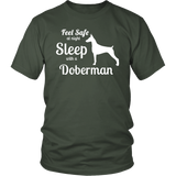 Be Safe Sleep with a Doberman