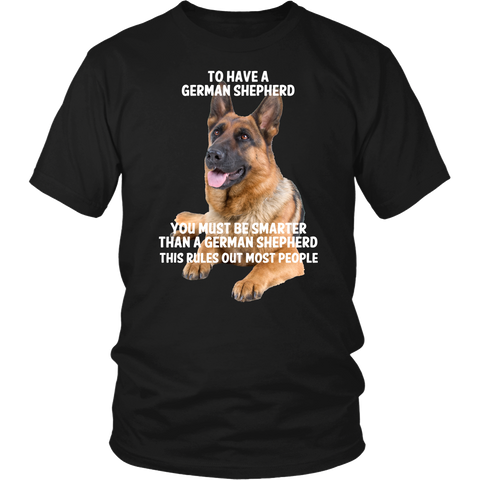 German Shepherd Smarter Than