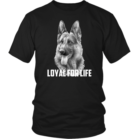 German Shepherd Loyal For Life
