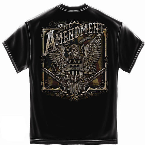 Second Amendment Shirt - 2nd Amendment Eagle