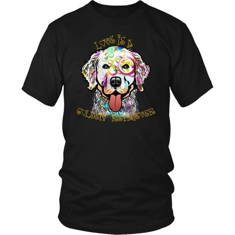 T-shirt - Golden Retriever Is Love