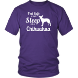 Feel Safe at Night Sleep with a Chihuahua Shirts