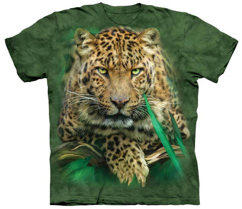 Wild Animal Shirt - Leopard In Jungle