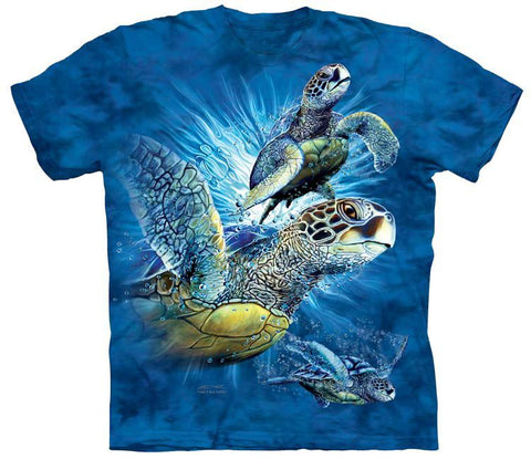 Wild Animal Shirt - Sea Turtles