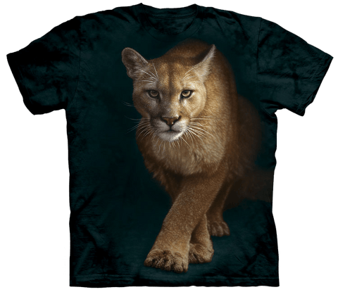 Wild Animals Shirt - Lion From The Dark