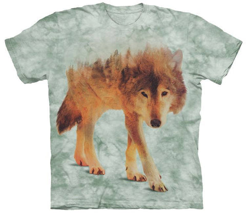 Wolf Shirt - Lonely Wolf