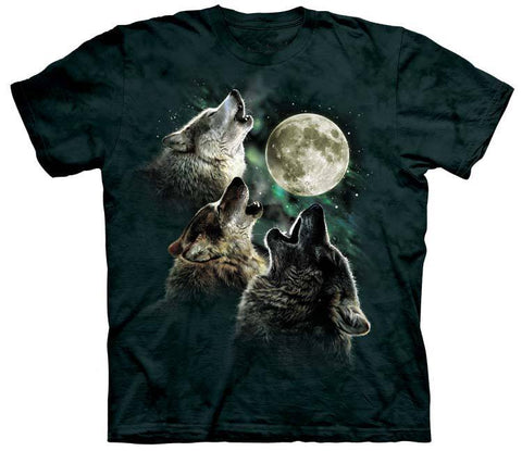 Wolf Shirt - Three Wolves Moon