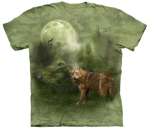 Wolf Shirt - Wolf Of The Forest