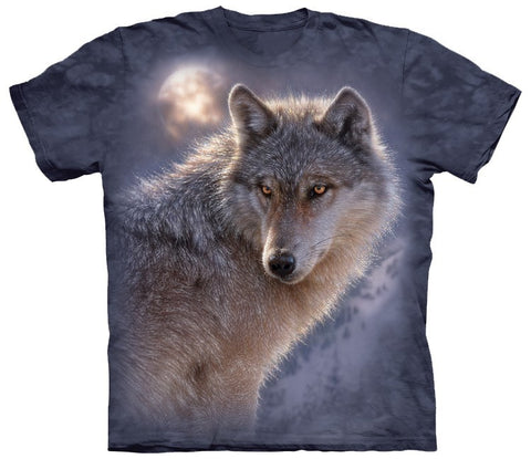 Wolf Shirt - Wolf Silver Moon