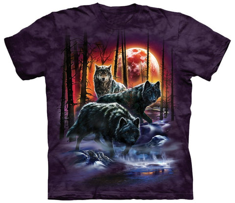 Wolf Shirt - Wolves Of Fire And Ice