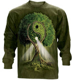 Yoga Shirt - Yin Yang Tree