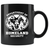 German Shepherd Department of Homeland Security Coffee Mug
