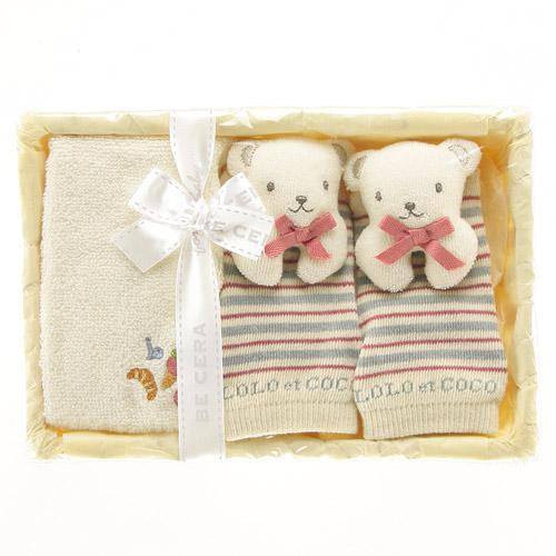 LOLO et COCO Bear gift basket