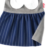 Niva bibs - pin striped