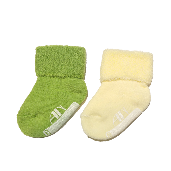 Anna Nicola cotton pile sock set (newborn)