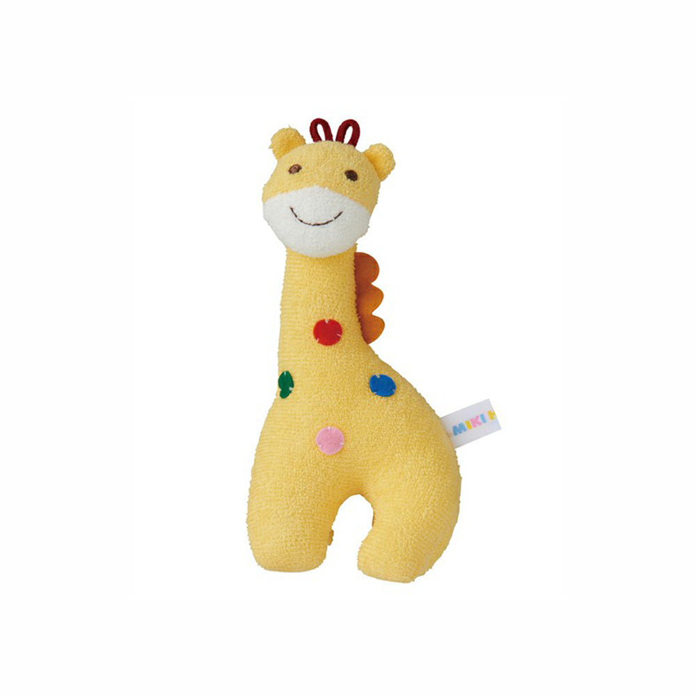 Mikihouse First rattle giraffe
