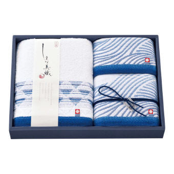 Imabari 7 Islands bath towel set